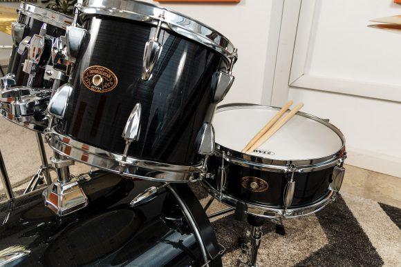 Учебен сет барабани - снеър дръм с палки - Саунд Съркъл