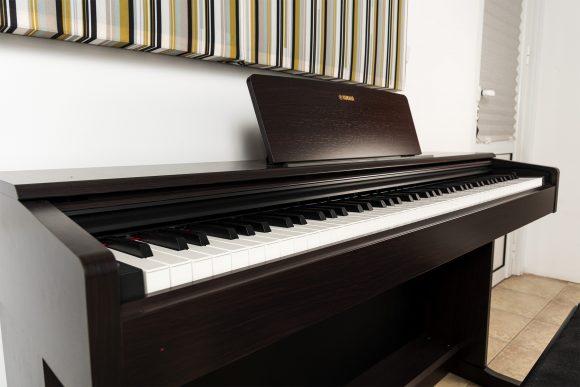 Кафяво пиано Ямаха за урок - Саунд Съркъл